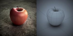 Just an Apple! (WIP) by Arx-Design