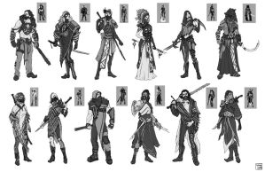 HS costume concepts by SpaceLaika