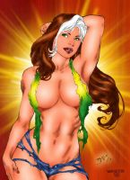 Rogue by Ed Benes by winchester01