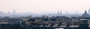 Paris Panorama #1 by skyfallfree
