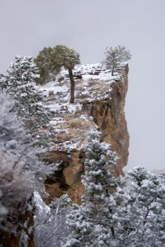 Snowy Grand Canyon by PaSidor