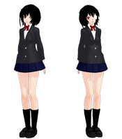 Misaki Mei Another- MMD Model Download by MLPMollza