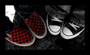 Vans 'n Chucks by drunkendoll