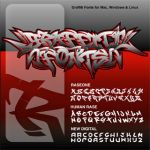 Graffiti Fonts 1.7 Collection by fontmonster