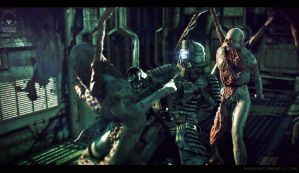 Dead Space scene by Bawarner