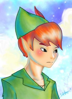 Peter Pan by flewyesterday