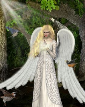 Woodland Angel by PosthumusCreations