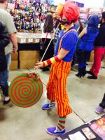 SUPERCON DAY ONE - trickster dirk by peatock