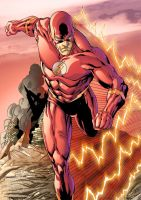 Flash by Leonardo Gondim color by Dany-Morales