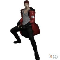 DmC: Devil may Cry Dante Black Cherry Mod by DanteRedgrave28