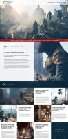 Assassin's Creed Unity Website ReDesign by Illusiv-Fr