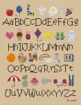 Kawaii Alphabet Sampler cross stitch pattern by avatarswish