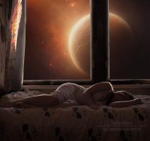 space-time for a dream by Creamydigital
