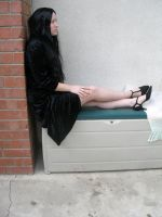 gothic lady 11 by PhoeebStock