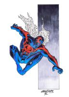 Spider-man-2099 by wjgrapes