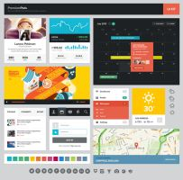 UI kit by DarkStaLkeRR