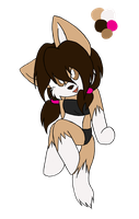 Chibi fennec adoptable CLOSED by SleeplesslyDreaming