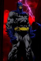 Batman colored by RCarter