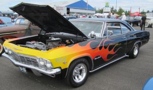 65 Chevy Impala SS by zypherion