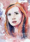 Amy Pond - Doctor Who | Art Card (Speedpainting) by Jeanne-Lui