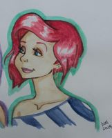 Ariel has got a new 'do by happyeverafter