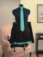 WIP Hatsune Miku Cosplay by AlkeeDesign
