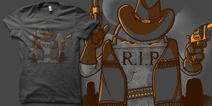 tombstone shirt by biotwist