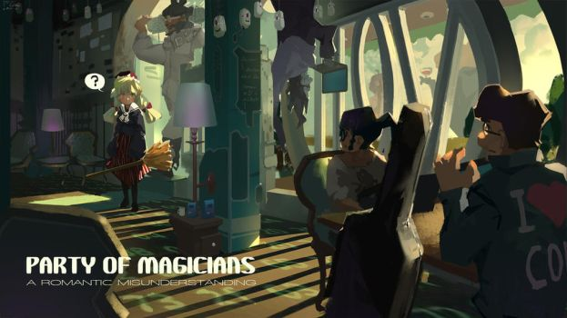 PARTY OF MAGICIANS by Flaurel