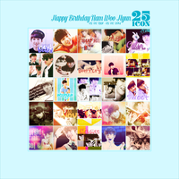 [INFINITIZEVN] PACK 25 ICON ~ Happy Birthday Namu by IAM-MUPMIP