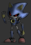 Metal Sonic by Blue-Chica