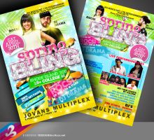 Spring Bling RI Flyer by AnotherBcreation