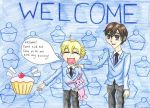 Welcome from Honey and Haruhi by HostClub