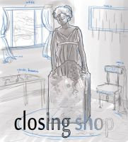 Closing Shop Title Card by AlexisRoyce