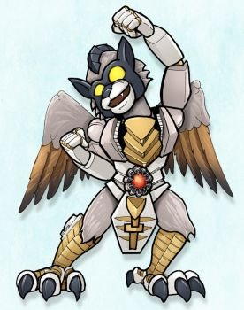 Beast Wars Silverbolt by RID-NightViper