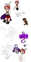 Ghoulie sketchdump by remnant-imaginations
