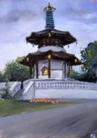 pagoda by EthicallyChallenged