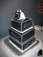 Stepsister's Wedding Cake by fredtaylor