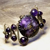 Steampunk Jewelry Bracelet A by CatherinetteRings