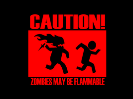 zombies may be flammable by trezoid
