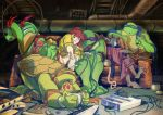TMNT - The Turtles playing with themselves by Nagymarci