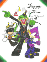STH: New Years with the Chaotix Team by Yangyang24