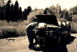 Fixing the old ride by JonazH10