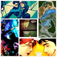 Dick and Babs Collage by AskArtemis