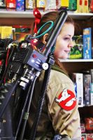 Ghostbuster girl Maeghan Eyre by GhostbustersNews