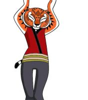 Caramelldansen Tigress by dmann892