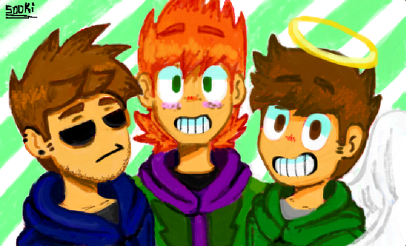 Eddsworld- The Squad by Cyan-Bubble-Tea