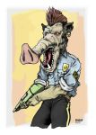 Cop Pig 1 by Pino44io