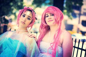 rose and pearl cosplay 2 by jovvian