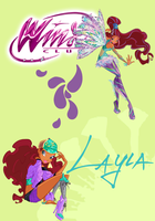 Winx Club Poster: Layla/Aisha by Rose9227614