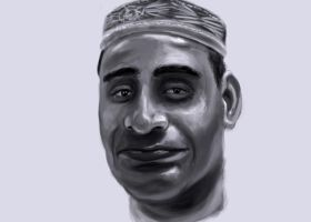 Indian man portrait study by imdeerman